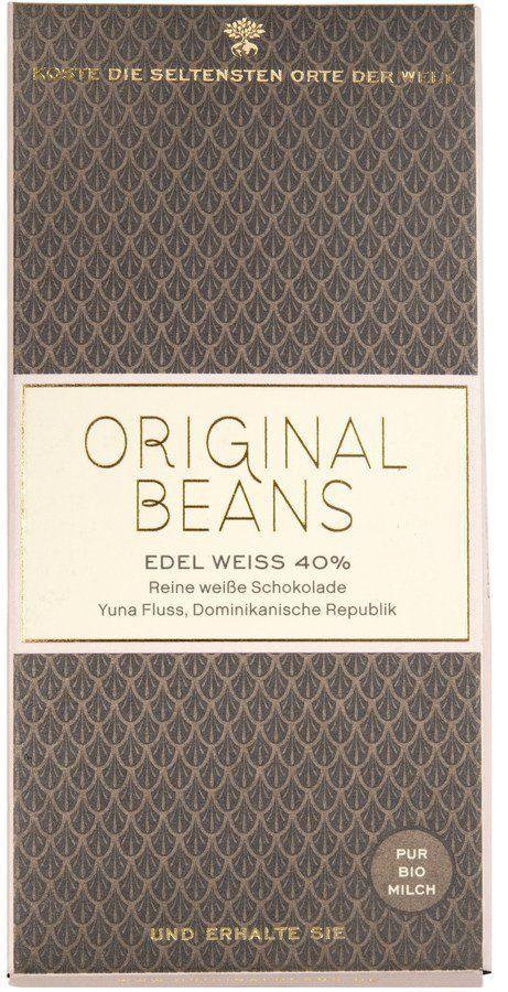 Original Beans Edel Weiss 40% Bio Weisse Schokolade 13x70g