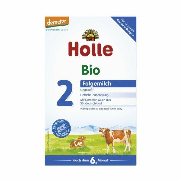 Holle Bio-Folgemilch 2 3x600g