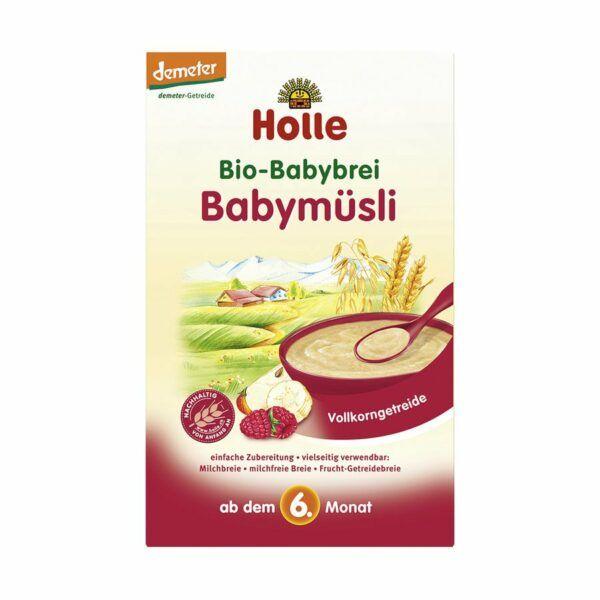 Holle Bio-Babybrei Babymüsli 6x250g