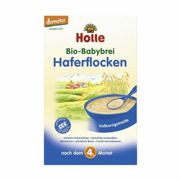 Holle Bio-Babybrei Haferflocken 6x250g