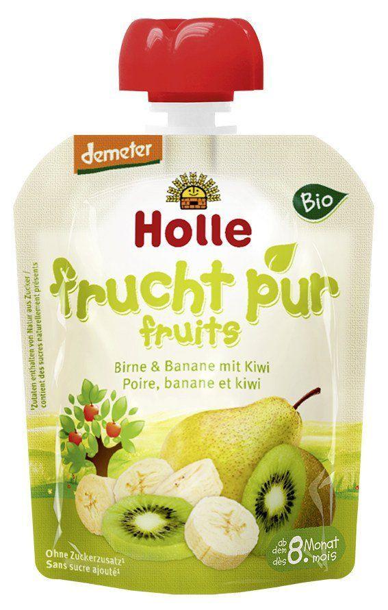 Holle Pouchy Birne & Banane mit Kiwi 12x90g