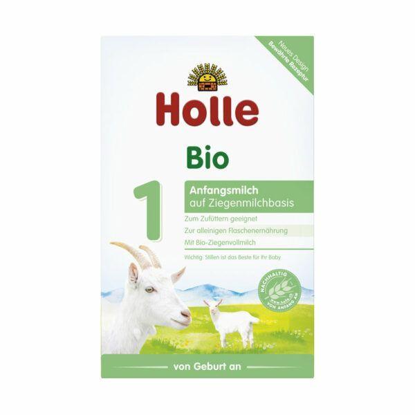 Holle Bio-Säuglingsmilch auf Ziegenmilchbasis 1 4x400g