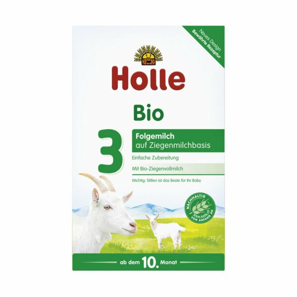 Holle Bio-Folgemilch 3 aus Ziegenmilch 400g