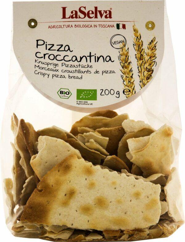 LaSelva Pizza croccantina naturale - Knusprige Pizzastücke 10x200g