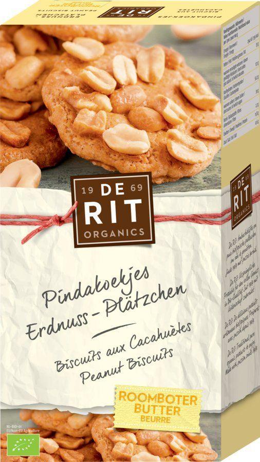De Rit Erdnuss-Plätzchen 10x150g
