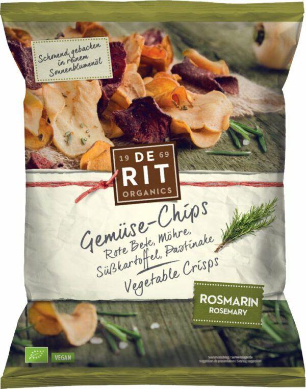 De Rit Gemüse-Chips Rosmarin 10x75g