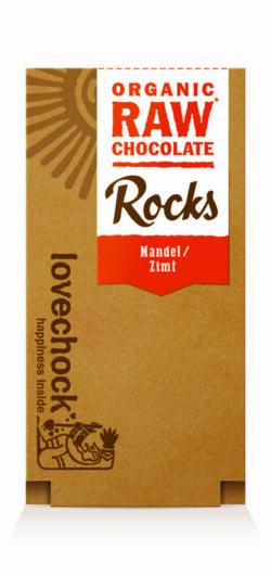 Lovechock Rocks 80 g Mandel/Zimt 8x80g