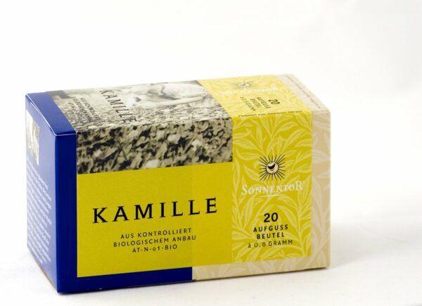 Sonnentor Kamille bio Beutel nicht einzeln verpackt 6x20g