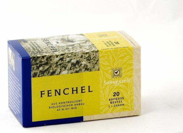 Sonnentor Fenchel Tee bio Beutel nicht einzeln verpackt 6x20g