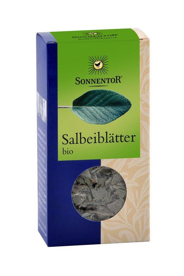 Sonnentor Salbei Blätter bio Packung 6x10g