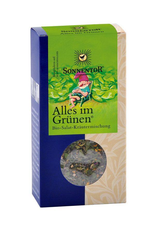 Sonnentor Alles im Grünen® Salatgewürz bio Packung 6x20g