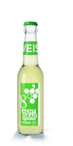 ACHT GRAD - Die Weinschorle. (weiß) 12x275ml