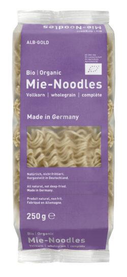 ALB-GOLD Bio Vollkorn Mie-Noodles 10x250g