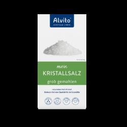 ALVITO - ACHTSAM LEBEN  Alvito KristallSalz 500g grob gemahlen weiße Qualität 500g