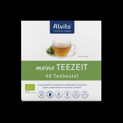 ALVITO - ACHTSAM LEBEN  Alvito TeeZeit - Kräutertee im Teebeutel 40x2g 80g