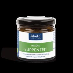 ALVITO - ACHTSAM LEBEN  Alvito SuppenZeit - Bio-Gemüsebrühe mit Bio-Gomasio-Würzmischung 120g