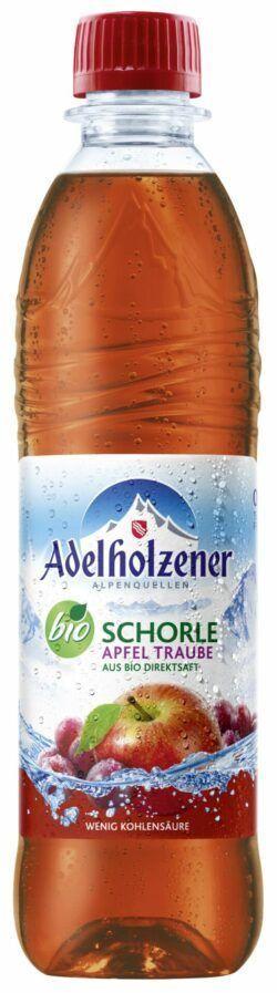 Adelholzener BIO Schorle Apfel Traube 12x0,5l