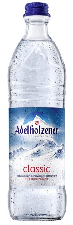 Adelholzener Mineralwasser Classic 12x0,5l