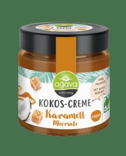 Agava Kokos-Creme, Karamell Meersalz 6x200g