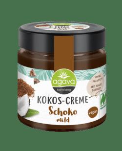 Agava Kokos-Creme, Schoko mild 6x200g