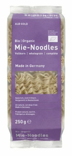 Albgold Vollkorn Mie-Noodles 10x250g