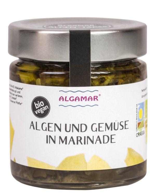Algamar Algen und Gemüse in Marinade 190 g BIO 8x190g