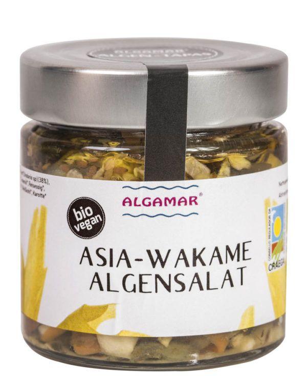 Algamar Asia-Wakame-Algensalat (Algen-Tapas) 190g BIO 8x190g
