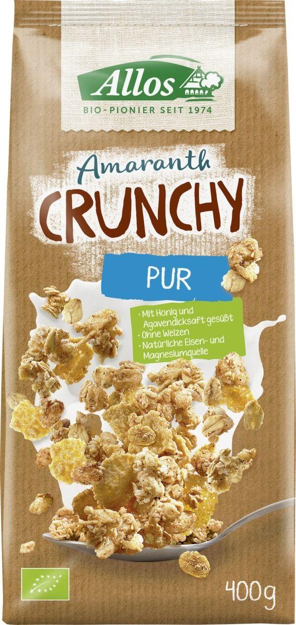 Allos Amaranth Crunchy Pur 6x400g