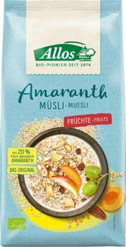 Allos Amaranth Früchte Müsli 5x1,5kg