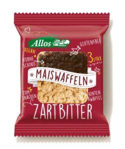 Allos Amaranth Mais-Waffeln mit Zartbitterschokolade 10x37,5g