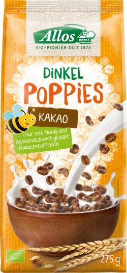 Allos Dinkel Kakao Poppies 6x275g