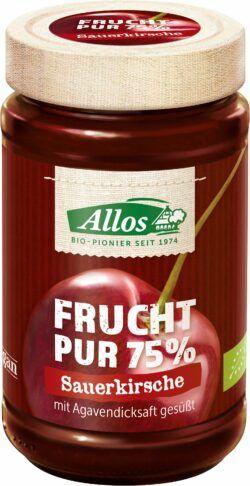 Allos Frucht Pur 75% Sauerkirsche 250g