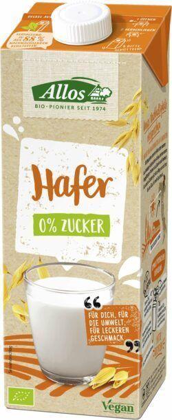 Allos Hafer 0% Zucker Drink 6x1l
