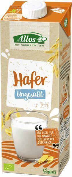 Allos Hafer Drink Ungesüßt 12x1l