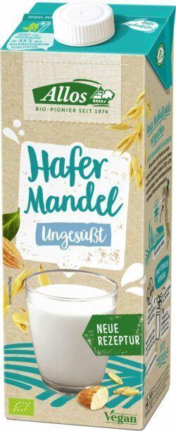Allos Hafer Mandel Drink Ungesüßt 6x1l