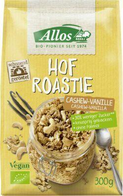 Allos Hof Roastie Cashew-Vanille 6x300g