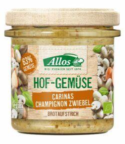 Allos Hof-Gemüse Carinas Champignon Zwiebel 6x135g