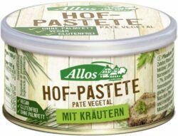 Allos Hof-Pastete Kräuter 125g