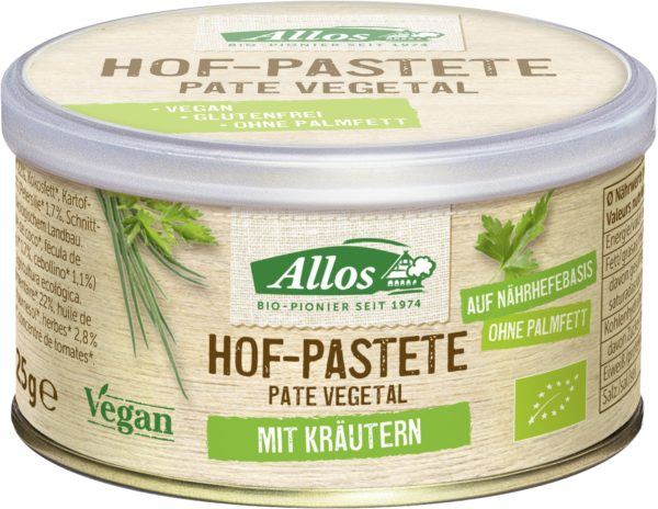 Allos Hof-Pastete Kräuter 12x125g