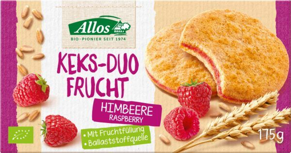 Allos Keks-Duo Frucht Himbeere 6x175g