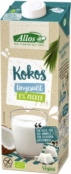 Allos Kokos Drink 0% Zucker 6x1l