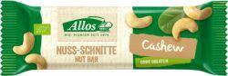 Allos Nuss-Schnitte Cashew 25x30g