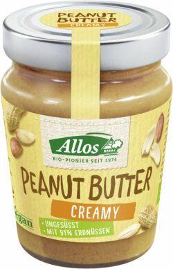 Allos Peanut Butter creamy 6x227g