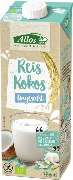 Allos Reis Kokos Drink Ungesüßt 6x1l