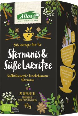 Allos Sternanis & Süße Lakritze Tee 4x40g