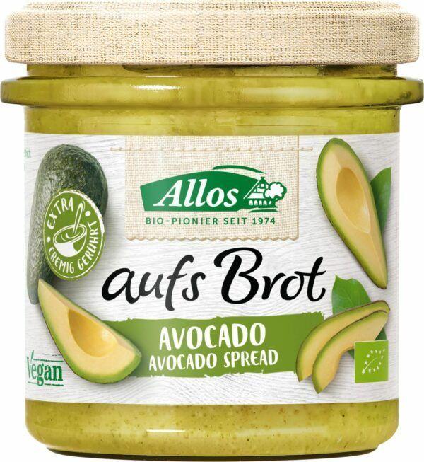Allos aufs Brot Avocado 6x140g