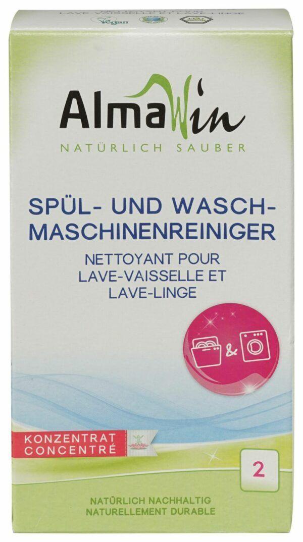 AlmaWin Spül- und Waschmaschinen Reiniger 6x200g