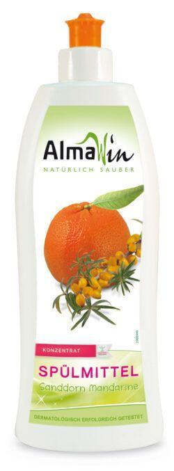 AlmaWin Spülmittel Sanddorn Mandarine 6x0,5l