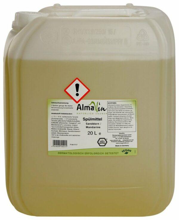 AlmaWin Spülmittel Sanddorn Mandarine 20l