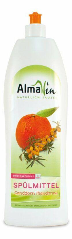 AlmaWin Spülmittel Sanddorn Mandarine 10x1l